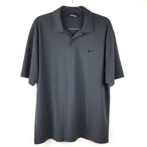 Men's Nike Golf Dri-FIT Dark Gray Polo Shirt Large
